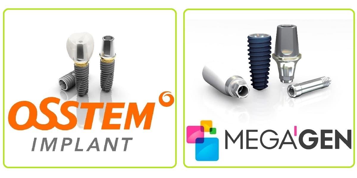 Импланты Osstem и Megagen - лучшие импланты в среднем ценовом диапазоне | Стоматология Доброзуб